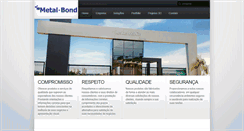 Preview of metalbond.com.br